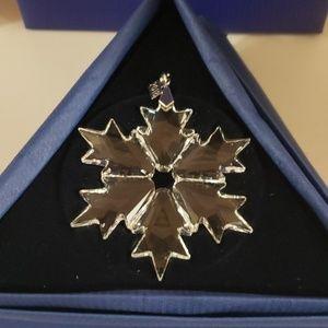 2018 Swarovski Crystal Ornament
